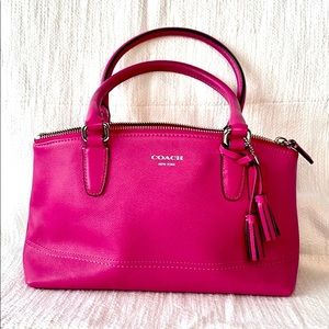 Coach Legacy Leather Mini Rory - Pink